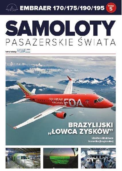 Samoloty pasażerskie świata T.5 Embraer-145979