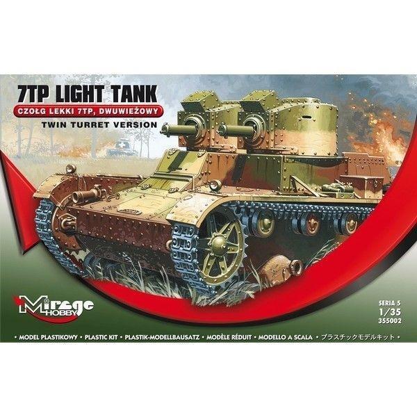 Czołg Lekki Dwuwieżowy 7TP seria 5-307894