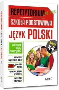 Repetytorium - szkoła podstawowa. Język polski, kl-31080