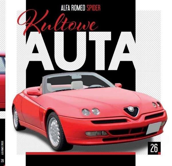 Kultowe Auta T.26 Alfa Romeo Spider-313064
