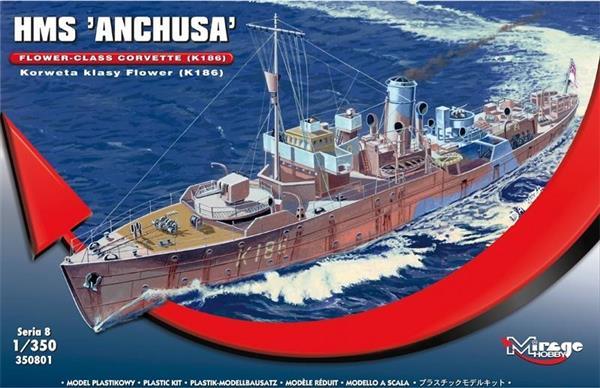 Brytyjska Korweta klasy Flower K186 HMS Anchusa