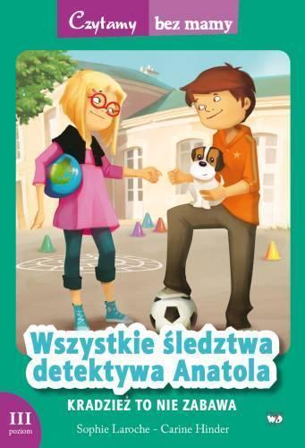 Czytamy bez mamy - Kradzież to nie zabawa