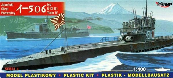 Okręt Podwodny U-BOOT U-506 Japoński