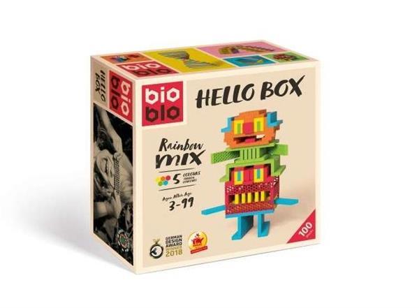 Bioblo 100 klocków Hello Box PIATNIK
