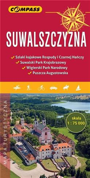 Mapa turystyczna - Suwalszczyzna 1:75 000
