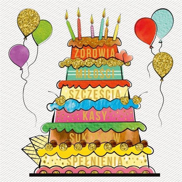 Karent 155x155 Urodziny - Życzenia