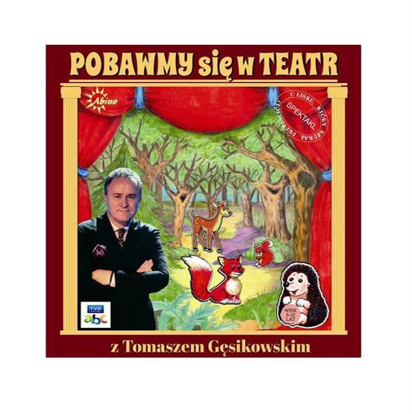 Pobawmy się w teatr z Tomaszem Gęsikowskim ABINO