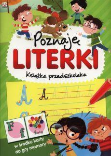 Poznaję literki. KSiążka przedszkolaka outlet
