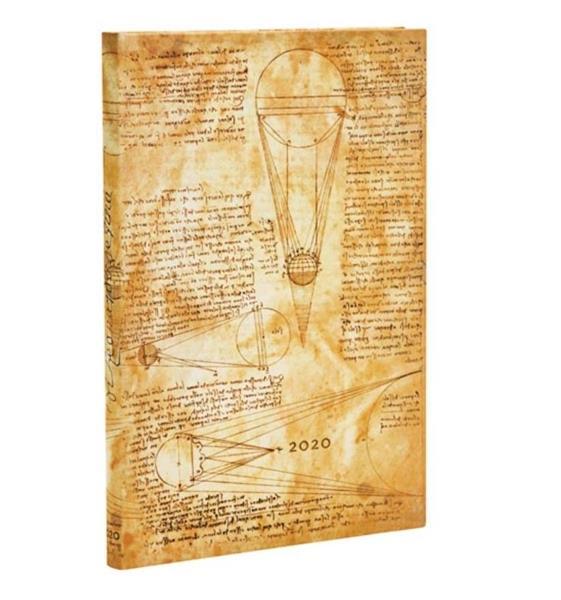Kalendarz książkowy maxi 2020 12M hor. Leonardo