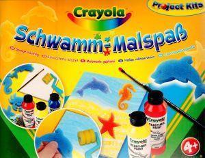 Malowanie gąbkami CRAYOLA