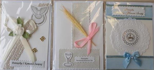 Karnet I Komunia Święta B6 RR MIX AVANTI