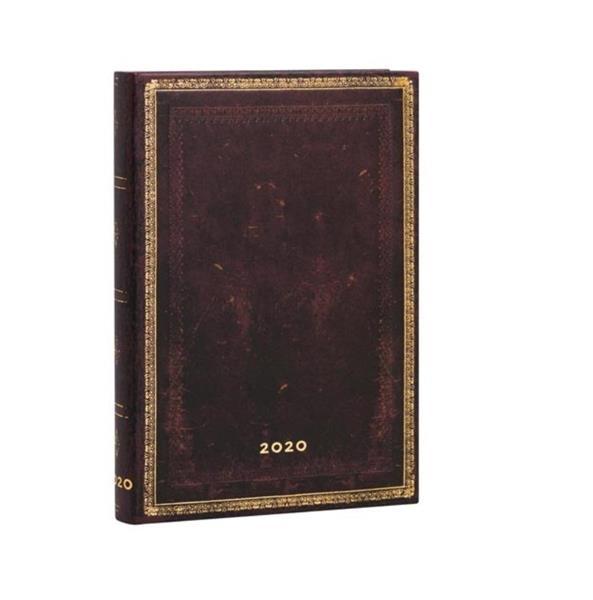 Kalendarz książkowy mini 2020 12M hor. Moroccan
