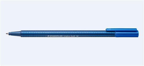 Długopis triplus ball 437M niebieski (10szt)