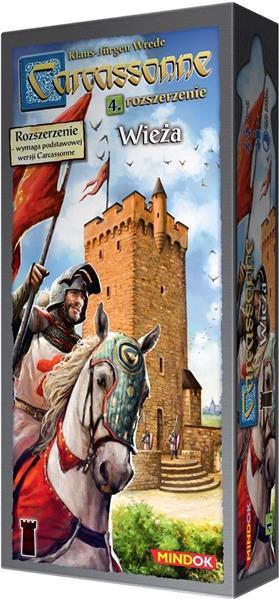 Carcassonne 4 - Wieża Edycja 2 (dodatek)