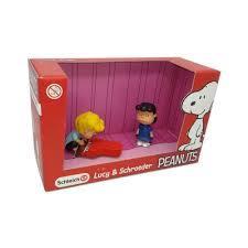 Schleich Snoopy Figurki Lucy & Schroeder