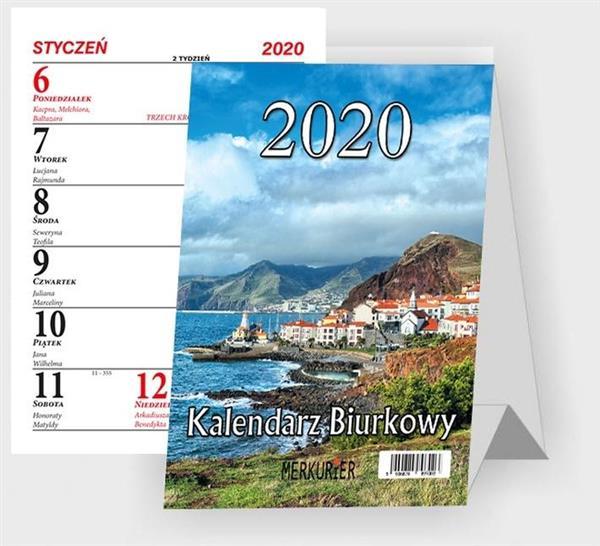 Kalendarz 2020 Biurkowy B1 Merkurier MIX BESKIDY