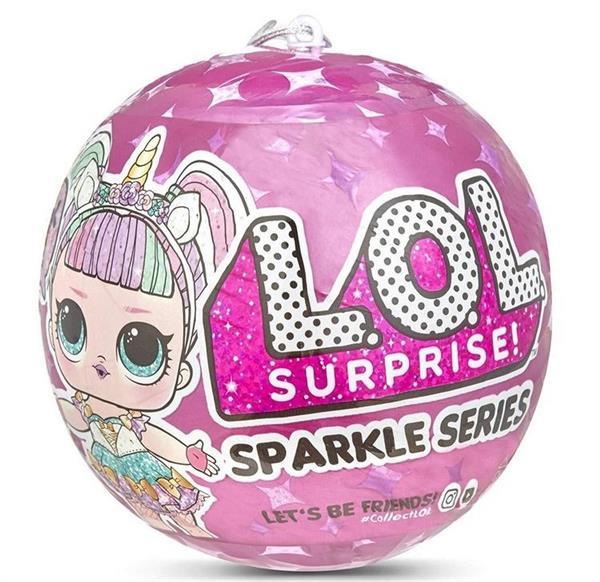 LOL Surprise Dolls Sparkle Series Sidekick (36szt)