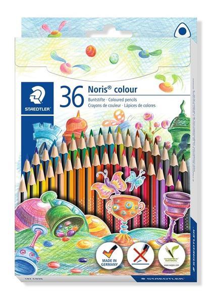 Kredki trójkątne Noris Colour 36 kolorów STAEDTLER