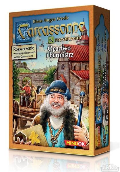 Carcassonne 5 - Opactwo i burmistrz Edycja 2