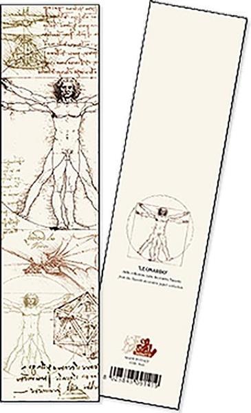 Zakładka do książki Leonardo opakowanie 2 sztuki