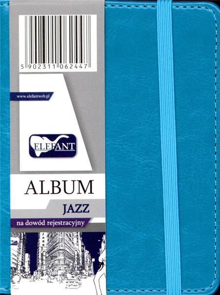 Album na dowód rejestracyjny Jazz turkus ELEFANT