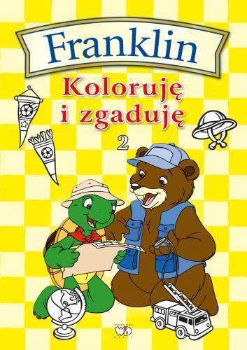 Franklin - koloruję i zgaduję 2