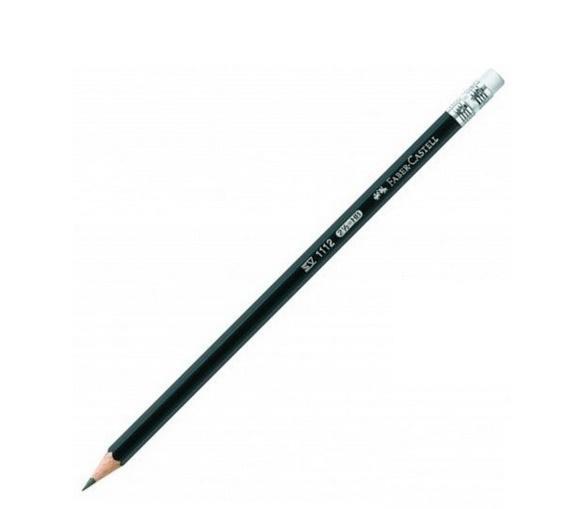 Ołówek 111/HB z gumką (12szt) FABER CASTELL