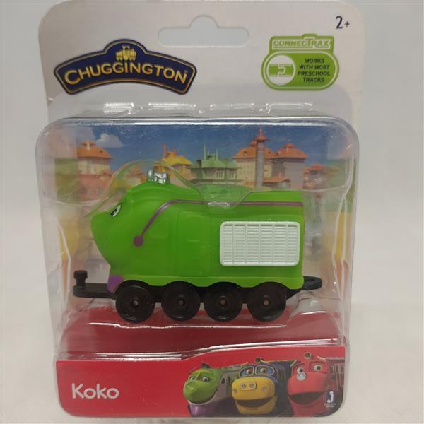 Zabawka lokomotywa Koko Stacyjkowo