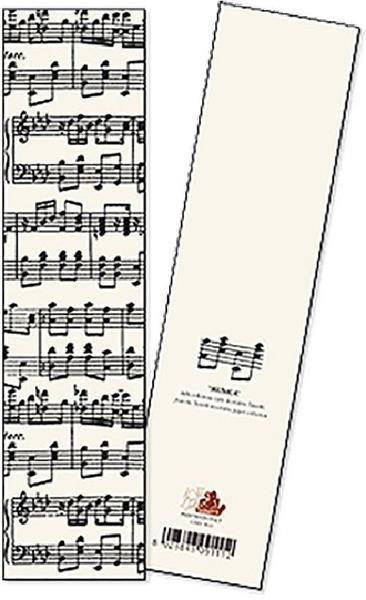 Zakładka do książki Musica opakowanie 2 sztuki