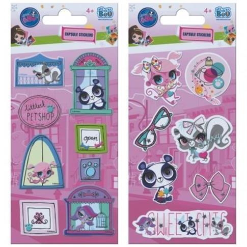 Naklejki Sticker BOO capsule Littlest Pet Shop