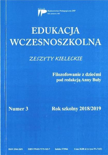 Edukacja wczesnoszkolna nr 3 2018/2019
