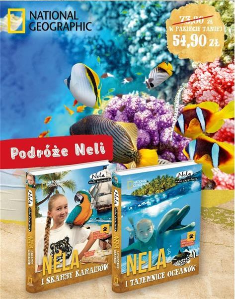 Pakiet 3:Nela i skarby Karaibów/Nela i tajemnice..