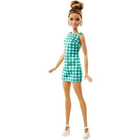 Barbie Fashionistas. Emerald Check