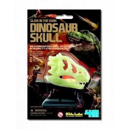 Russel Świecąca czaszka dinozaura
