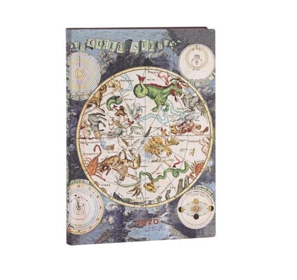 Kalendarz książkowy midi 2020 12M hor. Celestial