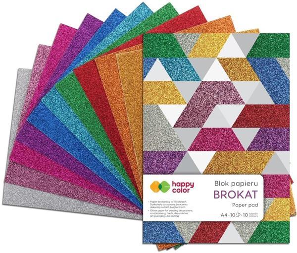 Blok A4/10K Brokat 150g HAPPY COLOR