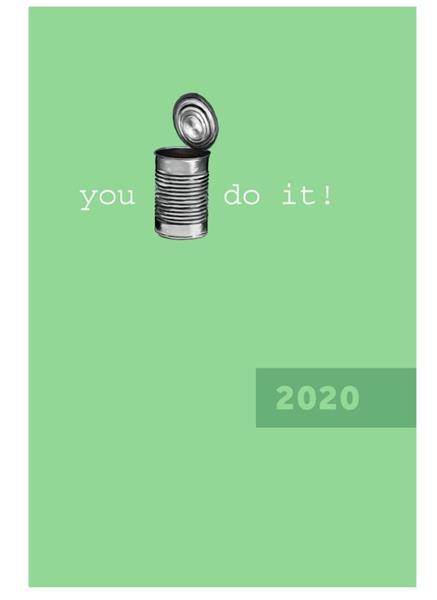 Kalendarz 2020 A5 tygodniowy I can do it NARCISSUS
