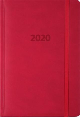 Kalendarz 2020 KK-A5DLR Dzienny Lux Registry MIX