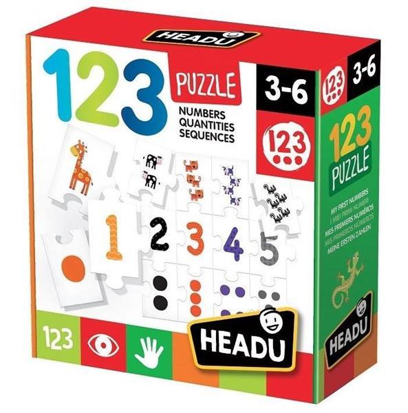 Puzzle Cyferki HEADU