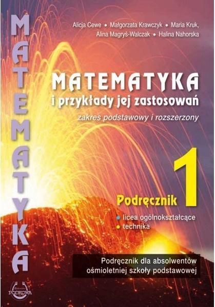 Matematyka i przykłady jej zastosowań kl.1 ZPiR