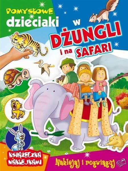Pomysłowe dzieciaki w dżungli i na safari OUTLET
