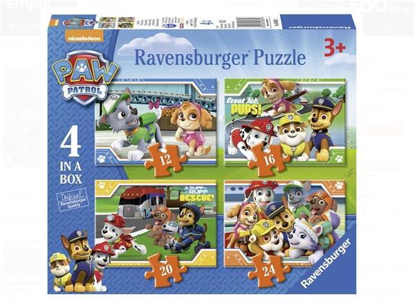 Puzzle 4w1 Psi Patrol 12/16/20/24 el.