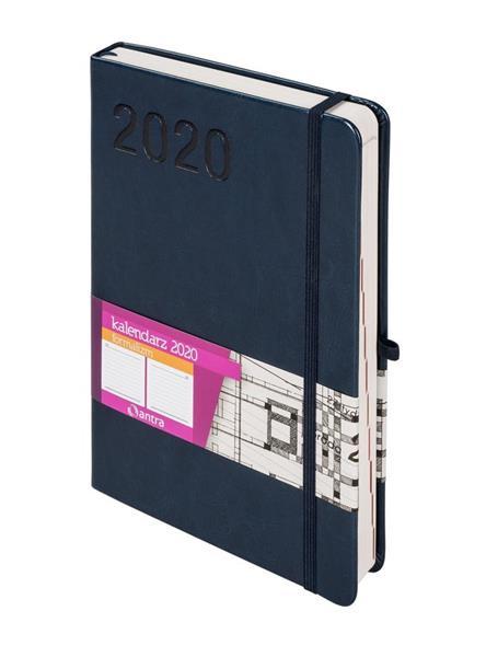 Kalendarz 2020 Formalizm A5 Granatowy DNS ANTRA