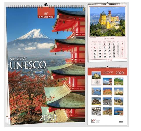 Kalendarz 2020 13 Plansz B3 - UNESCO EV-CORP