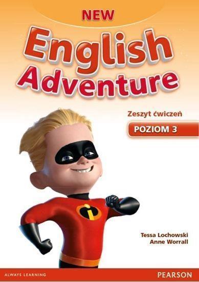 English Adventure New 3 WB + DVD PEARSON