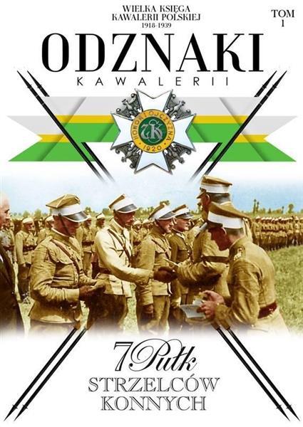 Odznaki Kawalerii T.1 7 Pułk Strzelców konnych