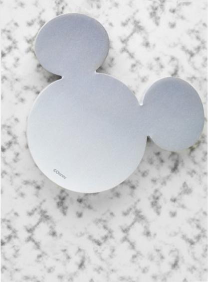Karteczki samoprzylepne - Myszka Miki szare