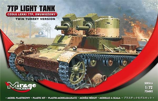 Czołgi Lekki Dwuwieżowy 7TP Polski-304403