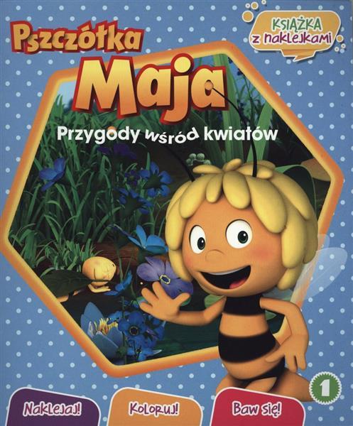Pszczółka Maja Naklejaj! Koloruj! Baw się! outlet-8462
