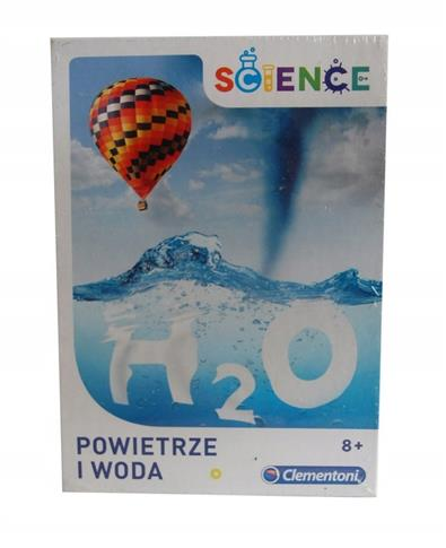 Powietrze i woda Science Clementoni